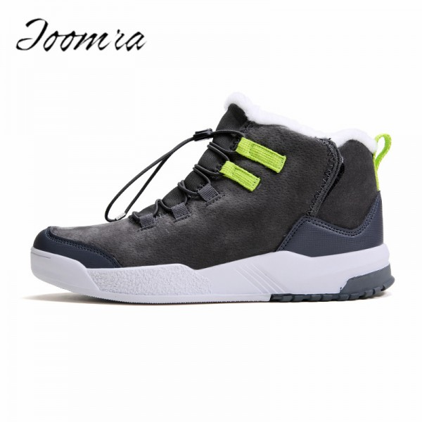 Casual Shoes for Men Medium cut short plush inside EVA Comfort Keep Warm Workout Winter Tide Fashion Shoes for men Extra Image 1