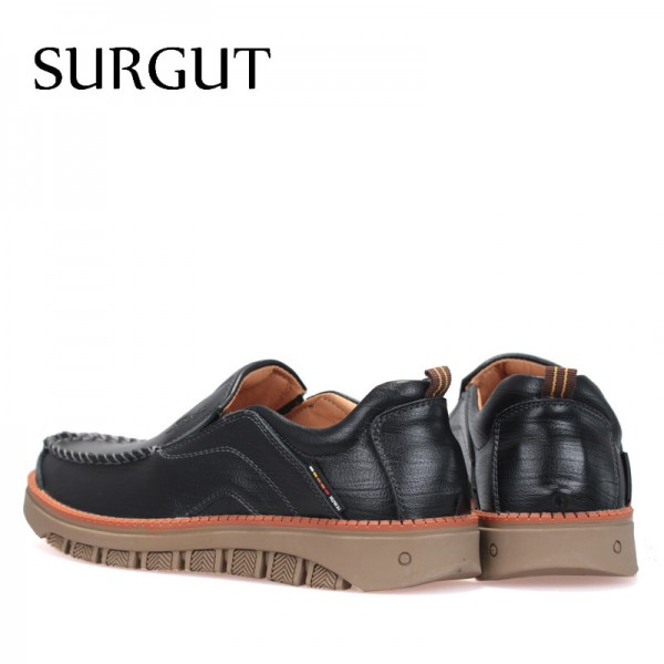 Casual Shoes Men Cow Leather Vintage Designer Shoes Men Dress Moccasins Loafer Slip On Flats Men Shoes Extra Image 2