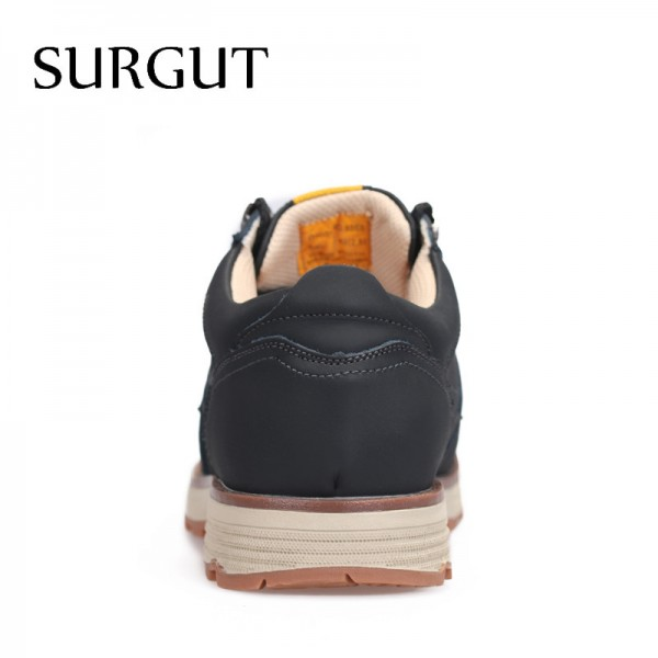Casual Shoes Men Summer Stylish Mens Shoes Fashionable Restore Ancient Ways Cow Split Leather Botas Hombre Shoes Men Extra Image 4