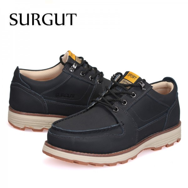 Casual Shoes Men Summer Stylish Mens Shoes Fashionable Restore Ancient Ways Cow Split Leather Botas Hombre Shoes Men