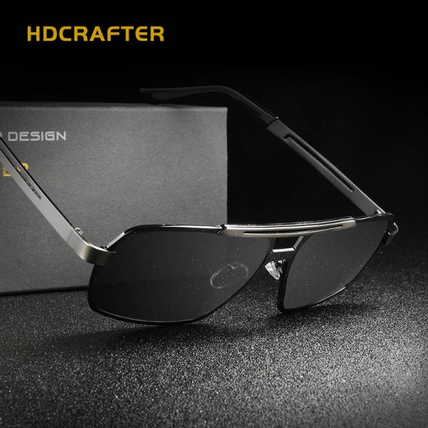 Classic Aluminium Magnesium Mens Sunglasses Square Polarized Sunglasses Driving Eye Accessories For Men Extra Image 3