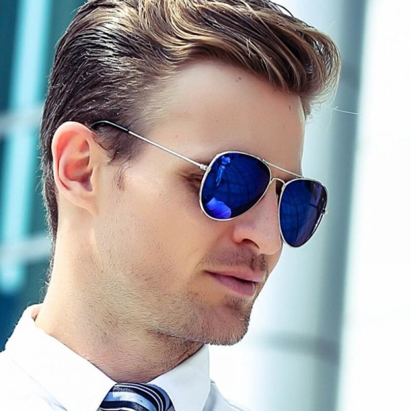 Classic Aviation Sunglasses Men Sunglasses Women Driving Mirror Male and Female Sun glasses Points Pilot Glasses Extra Image 2