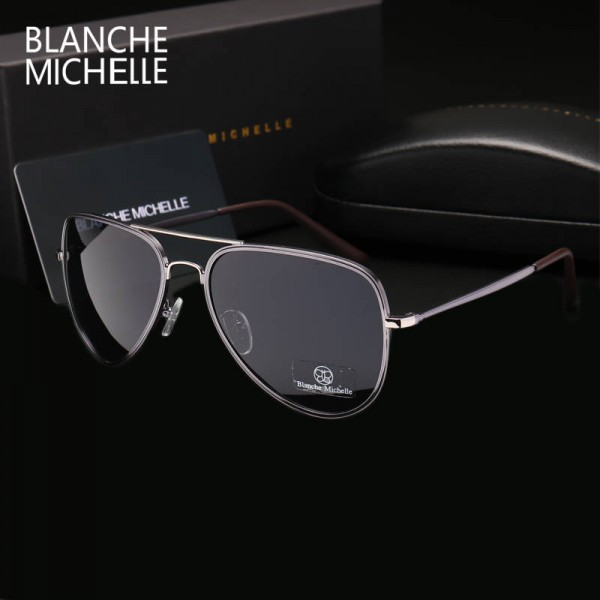 Classic Polarized Pilot Aviator Sunglasses For Men High Quality Driving Sunglasses Sun Proof Eyewear Extra Image 2