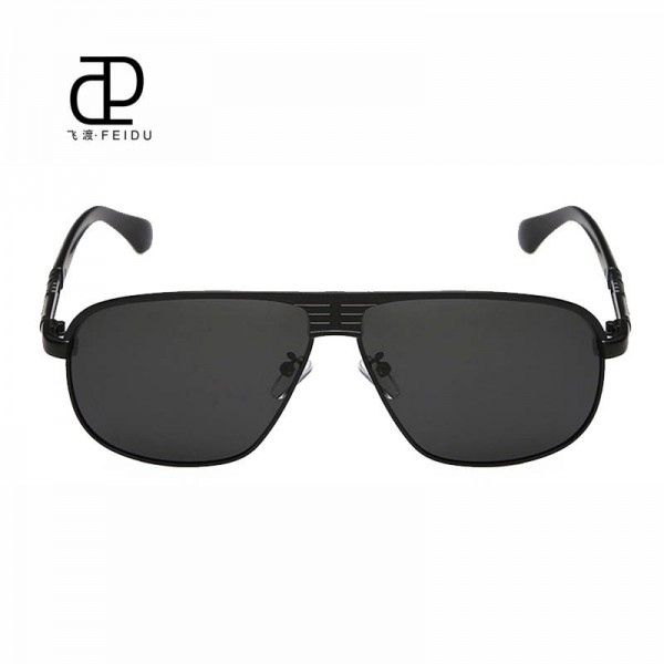 Classic Polarized Sunglasses For Men Driving Polaroid Alloy Frame Adult Eyewear Fully Customized Sun Shades Extra Image 1