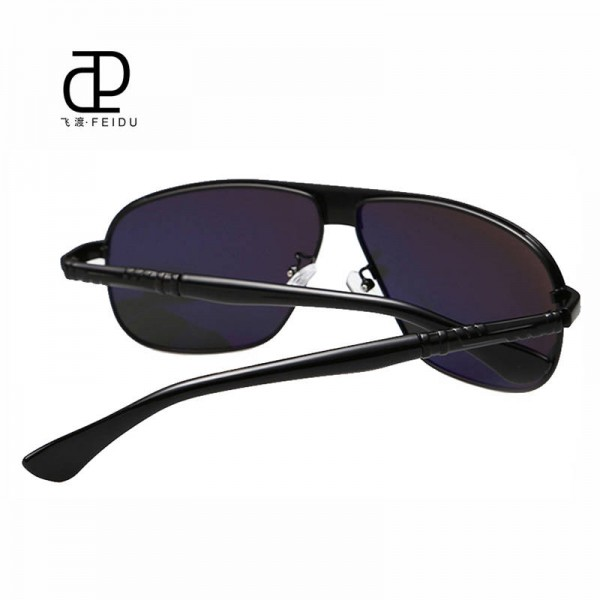 Classic Polarized Sunglasses For Men Driving Polaroid Alloy Frame Adult Eyewear Fully Customized Sun Shades Extra Image 2
