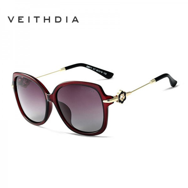 Classic Womens Sunglasses Sexy Ladies Big Frame UV400 Polarized Alloy Frame Anti Reflection HD Sun Shades Extra Image 3