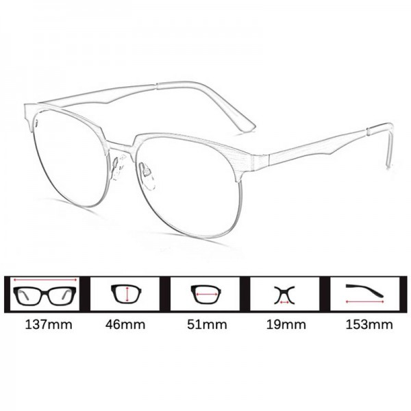 Computer Reading Gaming Eye Glasses Anti Radiation Anti Blue Rays Anti Fatigue Unisex Glasses For Men And Women Extra Image 5
