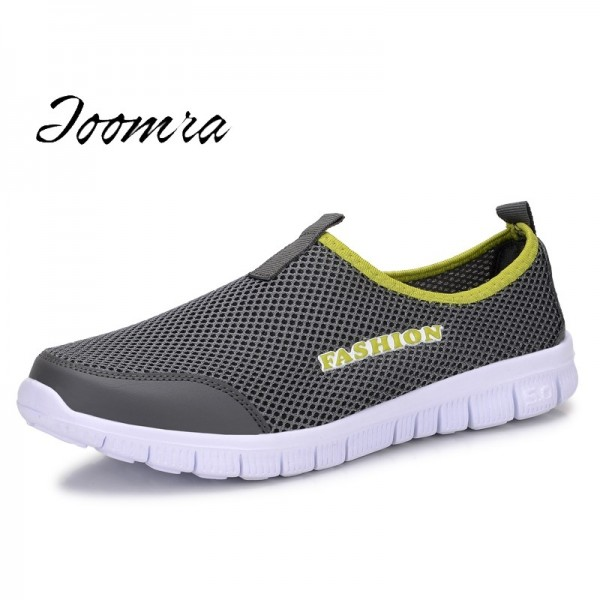 Cool Casual Shoes For Men High Quality Breathable Mesh Design Optimum Comfort Fitness Workout Slip On Footwear Extra Image 1