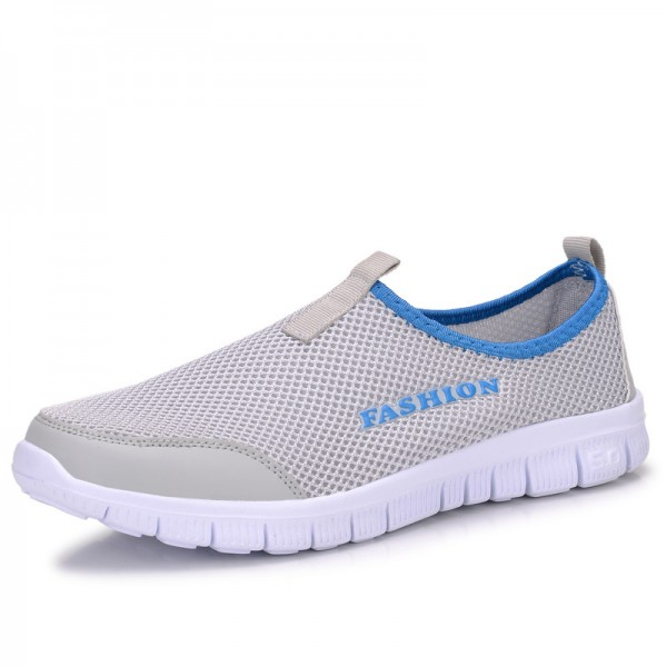 Cool Casual Shoes For Men High Quality Breathable Mesh Design Optimum Comfort Fitness Workout Slip On Footwear