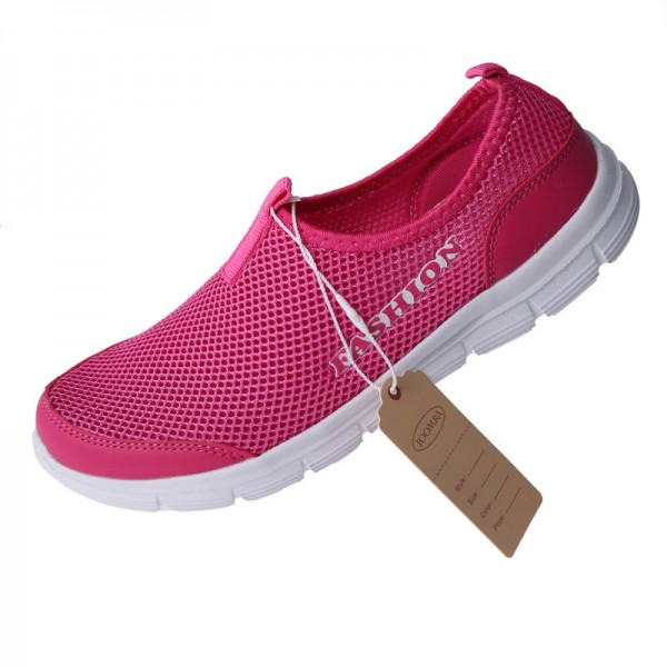 Cool Casual Shoes For Men High Quality Breathable Mesh Design Optimum Comfort Fitness Workout Slip On Footwear Extra Image 3