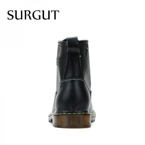 Cow Split Leather Boots Warm Fur Men Winter Shoes Waterproof Footwear High Quality Autumn Ankle Adult Men Boots Extra Image 4