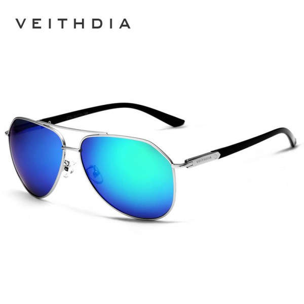 Designer Aviator Polarized Sunglasses For Men And Women Colour Coating Mirror Classic Authentic Design Extra Image 3