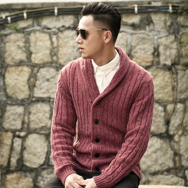 Designer cardigans men sweaters 2018 knitwear button cardigan Top quality fashion male Christmas knitted coat Extra Image 2