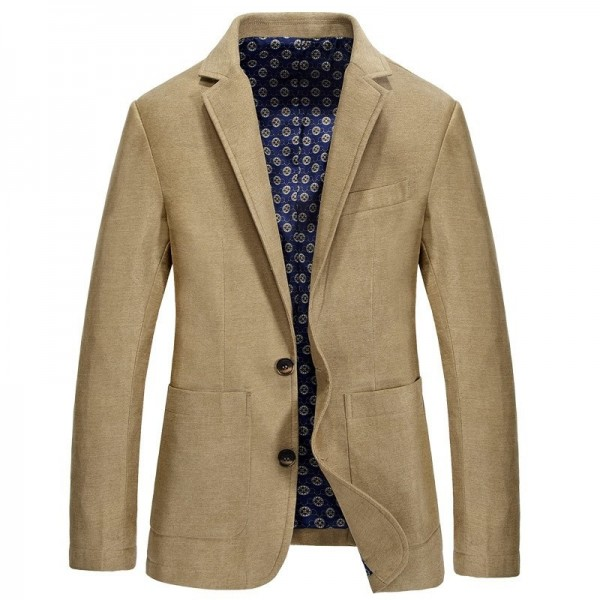Designer Mens Casual Blazer Brand Fashion Male Fit Slim Jacket Coat Men Blazer Warm Blazer Coat For Men Extra Image 5
