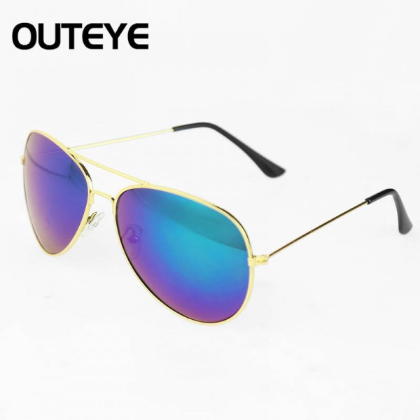 Designer Retro Vintage Aviator Sunglasses Luxury Design For Women Thumbnail
