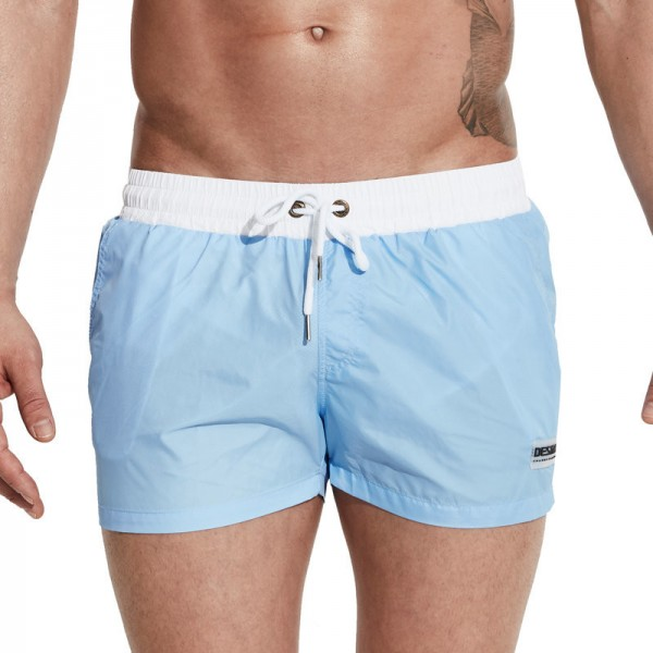 Desmiit 2018 Summer Swimming Shorts for Men Surf Swim Wear Shorts Beach Trunks Light Thin Quick Drying Swimsuit Man