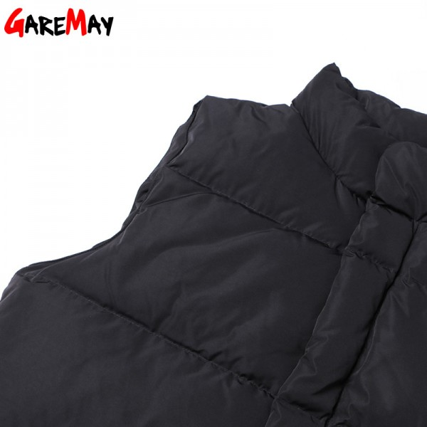 Down Vest Women Outwear Female Clothing Thicken Winter Warm White Jacket Causal Vest Coat Sleeveless Down Parka Extra Image 5