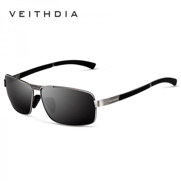 Driving Fishing Outdoor Sunglasses For Men Strong Anti Ultraviolet Rectangle Alloy Frame Eyewear For Boys Extra Image 2