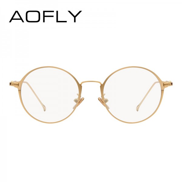 Elegant Oval Plain Eyewear Fashion Women Brand Designer Metal Frame Glasses Clear Lens Eyeglasses High Quality Extra Image 3