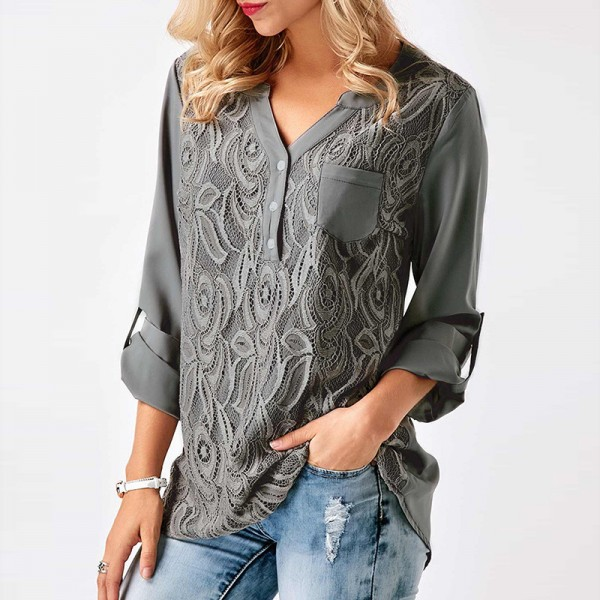 Casual Blouses Ladies Autumn Collection