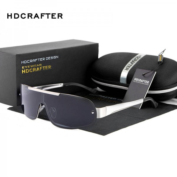 Exclusive Sports Fishing Sunglasses High Quality Polarized UV400 Alloy Frame Fully Customized Goggles For Men