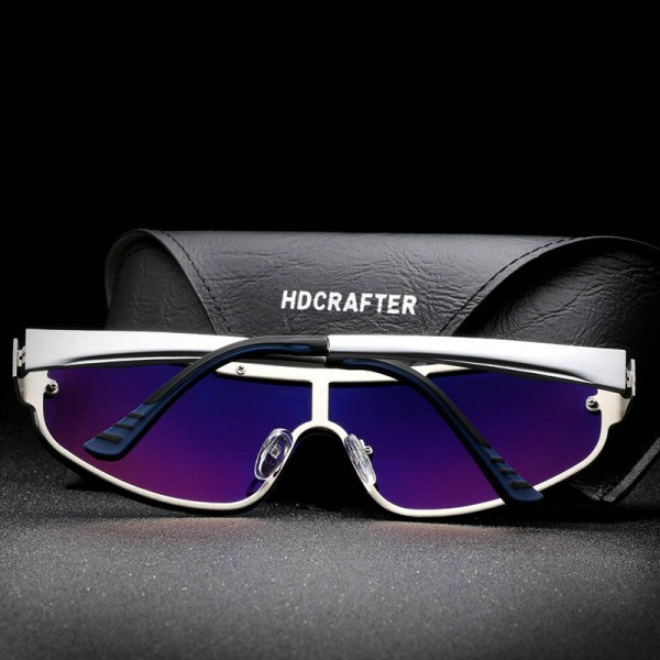 Exclusive Sports Fishing Sunglasses High Quality Polarized UV400 Alloy Frame Fully Customized Goggles For Men Extra Image 4