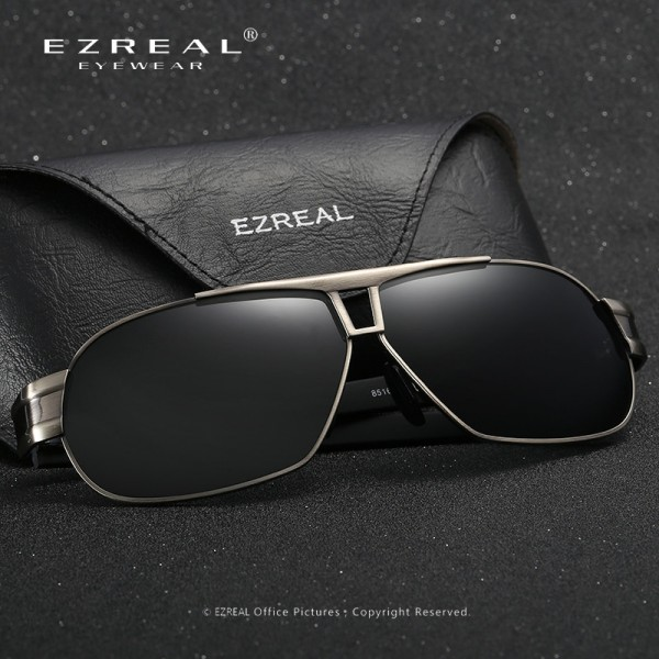 EZREAL Polarized Sunglasses Men Sun Glasses Women Male Oversized For Driving Shades Oculos De Sol Masculino With Box Extra Image 2
