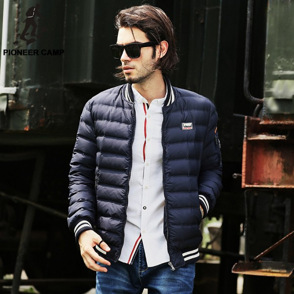 Buy fashion new winter white down jacket men brand clothing Top ...