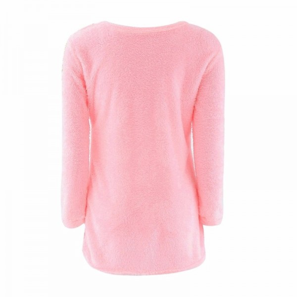 Fashion Sexy Ladies Sweater Coat Long Sleeve Soft Smooth Warm Winter Flat Knitted Casual Cardigan Extra Image 3