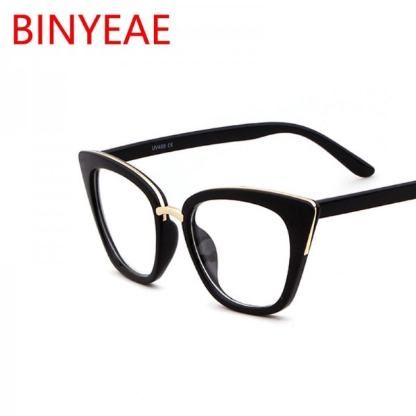 Fashion Spectacles Transparent Frame Glasses Brand Designer Cat Eye Glasses Clear Lens Classic Eyeglasses Frames Extra Image 3