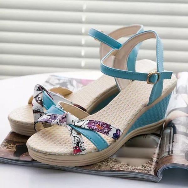 Fashion Summer Flat Shoes Women Sandals PU leather Flip Flops Women Buckle Strap Casual Flat Sandals Extra Image 6