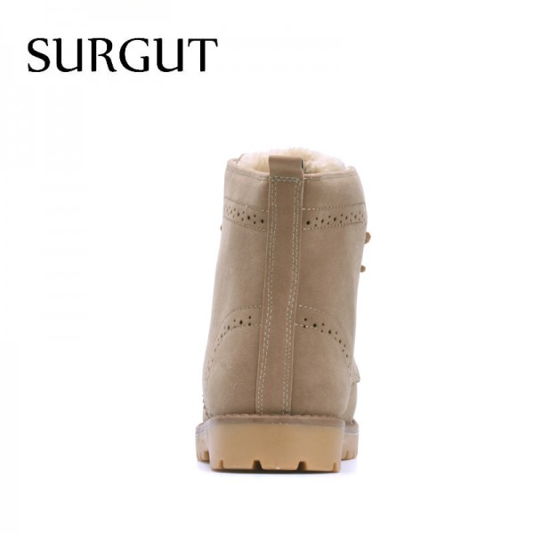 Fashion Winter Shoes For Men Suede Pu Leather Snow Men Boots High Quality Comfy Casual Shoes Men Plus Size Extra Image 4