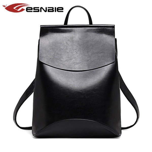 Fashion Women Backpack High Quality Leather Backpacks For Teenage Girls Female School Bags Thumbnail