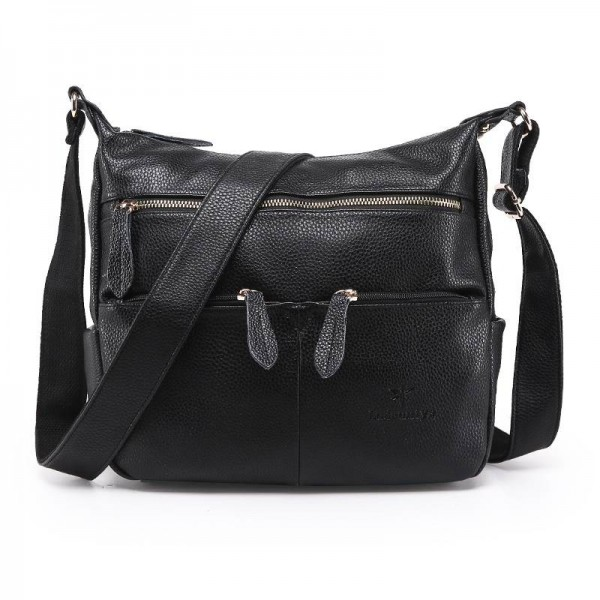 Fashion Women Messenger Bags Composite Genuine Leather Women ...