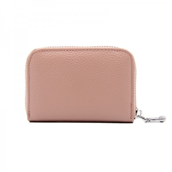 Fashion Womens Short Zipper Purse Wallet Genuine Leather Wallet Credit Card Holder Wallet For Women Extra Image 5