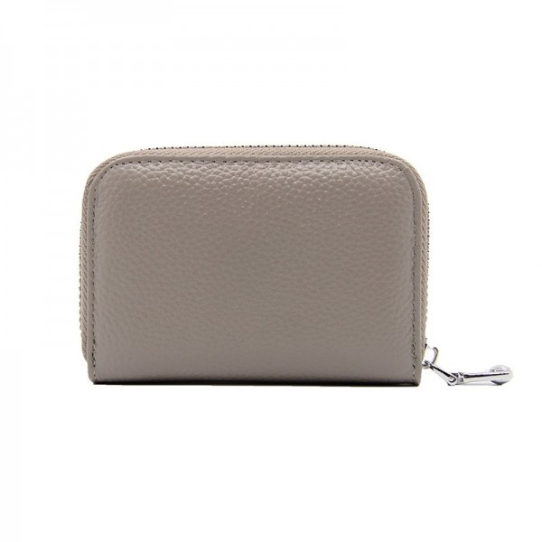 Fashion Womens Short Zipper Purse Wallet Genuine Leather Wallet Credit Card Holder Wallet For Women Extra Image 6
