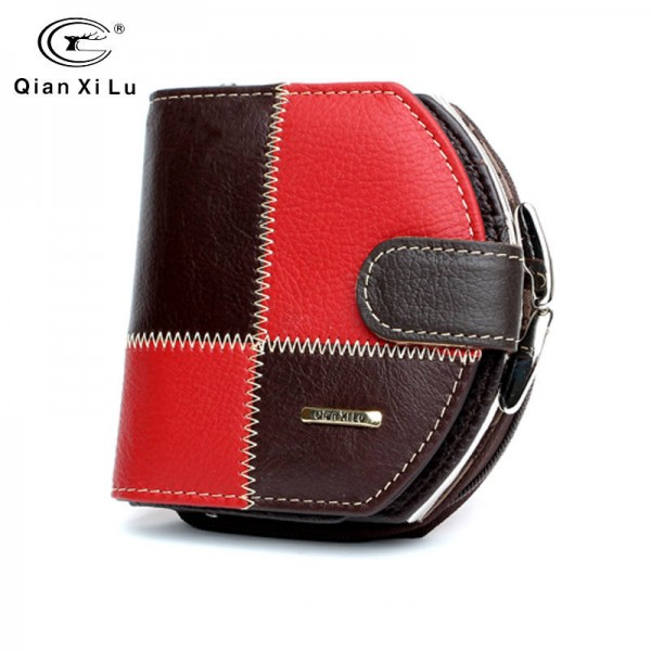 Genuine Leather Coin Purse High Quality Leather Mini Wallet Small New Design For Women Thumbnail