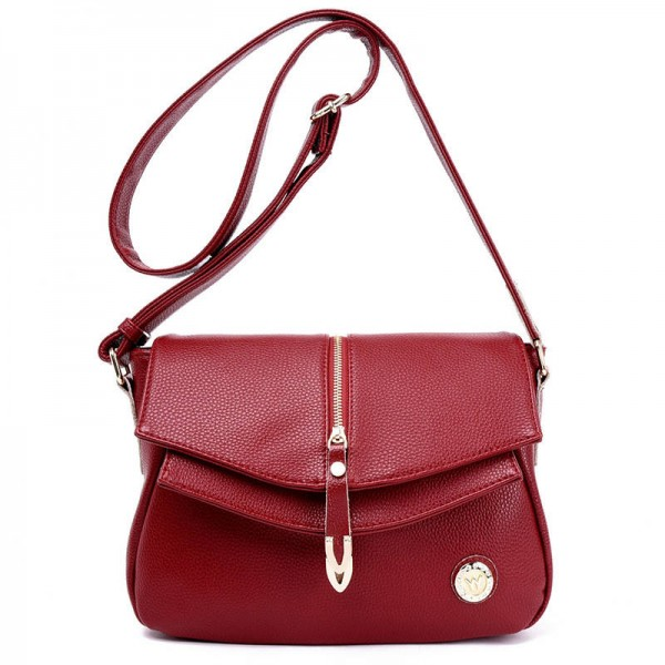 dab1b1dd8840 Genuine Leather Women Fashion Bags Handbags Vintage Shoulder Bags ...