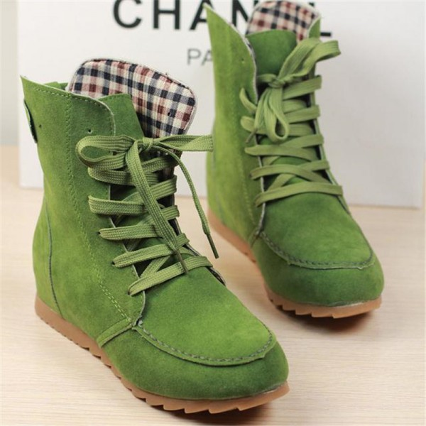 Girls Winter Boots New Arrival Snow Boots Trending Fashion Student Plus Size Leather Shoes Ankle Boots Extra Image 4