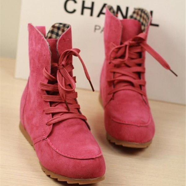Girls Winter Boots New Arrival Snow Boots Trending Fashion Student Plus Size Leather Shoes Ankle Boots Extra Image 5