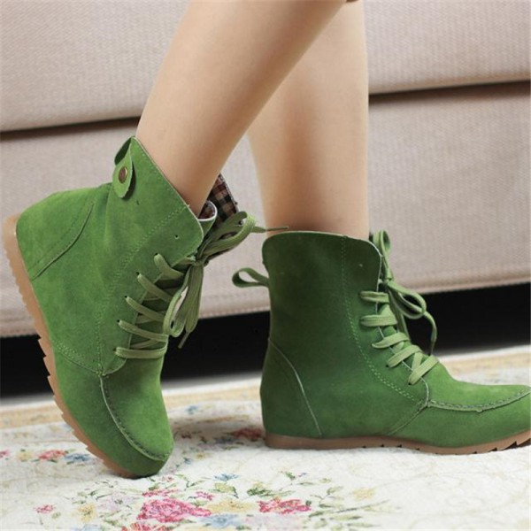 Girls Winter Boots New Arrival Snow Boots Trending Fashion Student Plus Size Leather Shoes Ankle Boots Extra Image 6