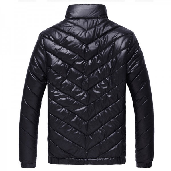 HEE GRAND Hot Sale Men Winter Coat Padded Jacket Autumn Winter Outwear Casual Parkas Solid Color Extra Image 2
