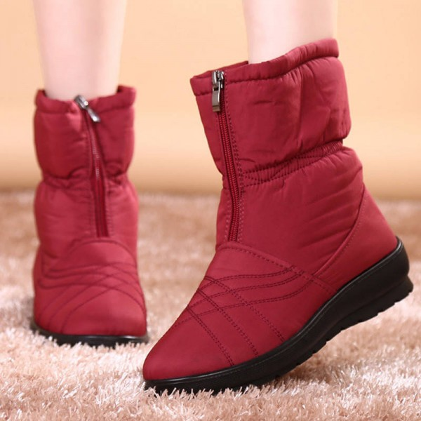 Hee Grand Waterproof Flexible Cube High Quality Cozy Snow Winter Boots Thumbnail