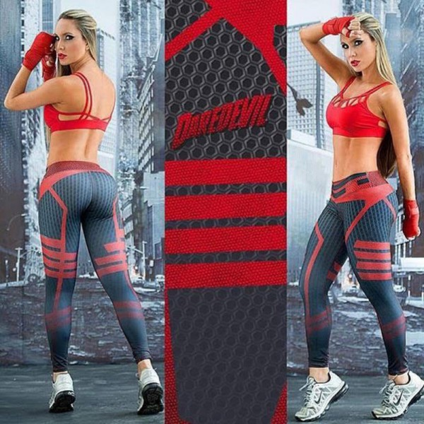 High Quality Women Sportswear Leggings Jeggings Slim Push Up Work Out Legging Stretched Fitness leggings esportivos Extra Image 5