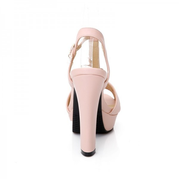 Hot Summer Women Sandals Fashion High Heels Sandal Sexy Gladiator T Strap Platform Party Dress Shoes Woman Extra Image 2