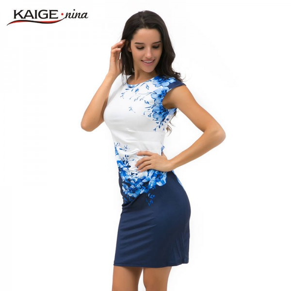 Kaige Nina Summer Bodycon Elegant Sexy Chic Dress Latest For Women Thumbnail