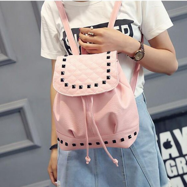 Korean Style Backpacks For Women New Shoulder Bags Mini Backpack For Teenage College Girls Mochila Backpacks Extra Image 2