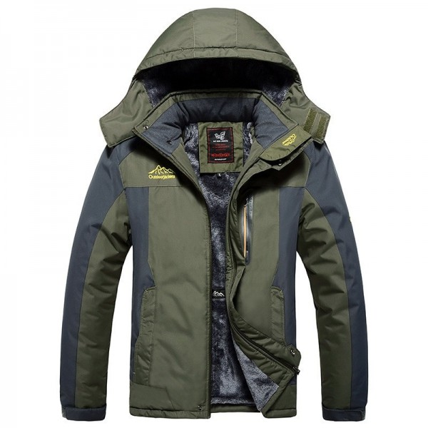 Large Size 2019 Top Quality Warm Outwear Winter Jacket Men Thick Warm Windproof Jacket Coat Casual Men Coat