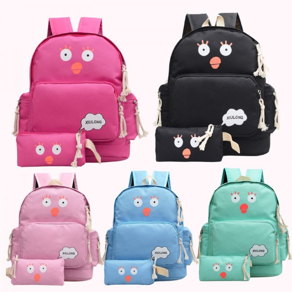 Latest Arrival Preppy Style Backpacks For Women High Quality Canvas School Bags Rucksacks Travel Bags For Young Ones Extra Image 2
