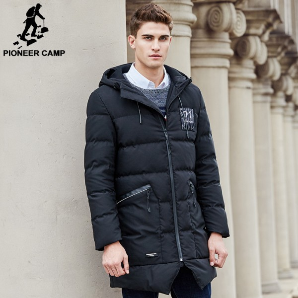 Long thicken winter down jacket men brand clothing warm duck down coat male top quality men down parkas coats for men Extra Image 2